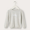 Crown Motif Sweater