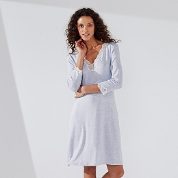 Lace Trim Nightgown