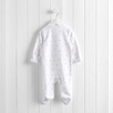 Cloudy Night Velour Sleepsuit