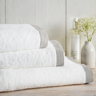 Color Border Towels