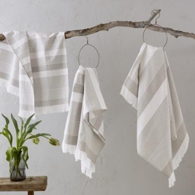 Corsica Stripe Hammam Towels