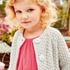 Collarless Knitted Coat (1-5yrs)