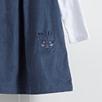 Cord Pinny & T-Shirt Set