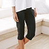 Cropped Roll Top Pants