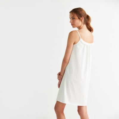 Ruffle Trim Nightgown