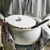 Porto Stoneware Casserole Pot