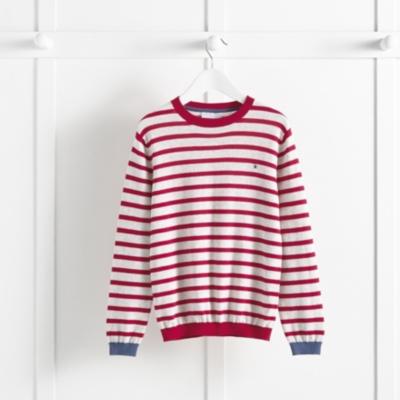 Crew Neck Stripe Sweater (5-10yrs)