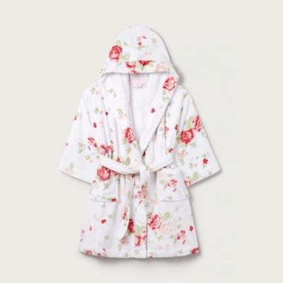 Christmas Floral Robe (1-12yrs)