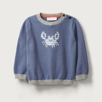 Crab Motif Sweater