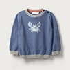 Crab Motif Sweater