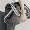 Contrast Strap Bag