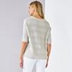 Chunky Stripe Batwing Sweater