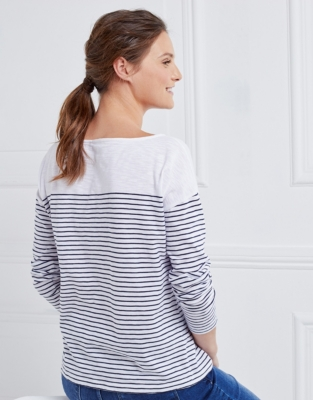 Boxy Pocket Stripe T-Shirt