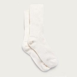 Cashmere Bed Socks - Ivory