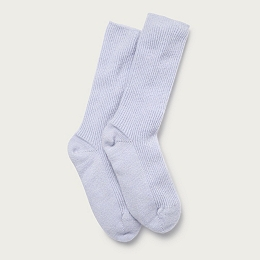 Cashmere Bed Socks - Pale Blue