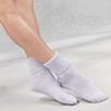 Cashmere Bed Socks - Pale Blue