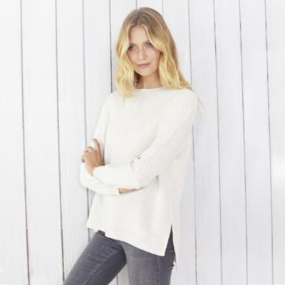 Cashmere Stitch Detail Sweater
