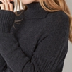 Chunky Sleeve Detail Sweater