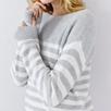 Cashmere Stripe Sweater