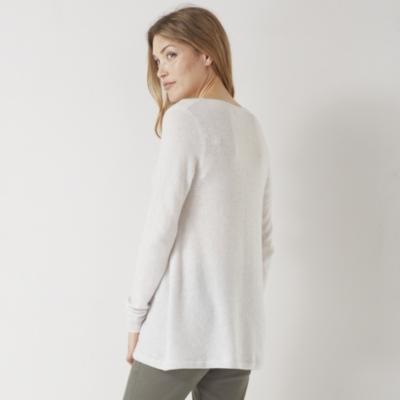 Cashmere Swing Sweater - Cloud Marl