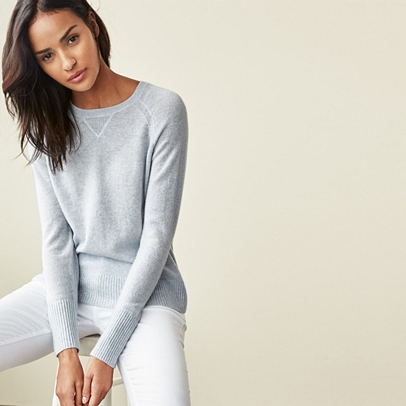 Cashmere Sweater | Sweaters & Cardigans | The White Company US
