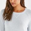 Cashmere Sweatshirt Sweater - Pale Blue Marl