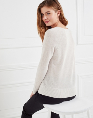 Cashmere Sweater - Cloud Marl