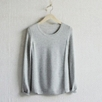 Cashmere Stitch Panel Sweater
