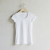 Cap Sleeve Tee - White