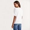 Cotton Slub Lace Trim T-Shirt