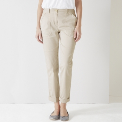 Utility Chino Pants - Clay