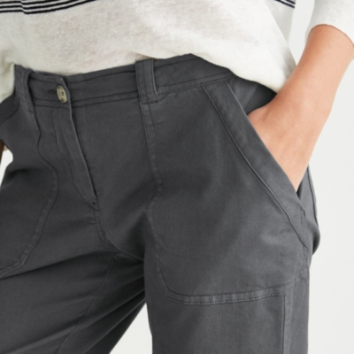 Utility Chino Pants - Blue