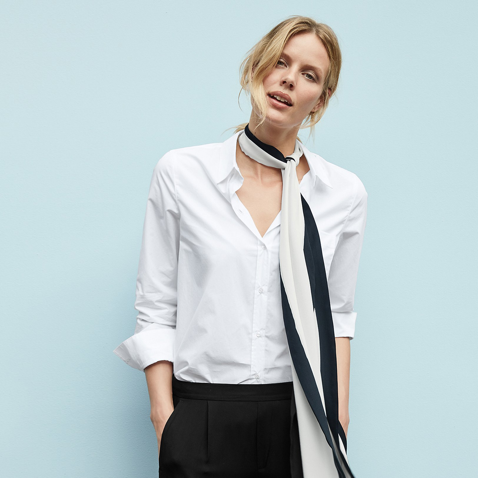 Shirts & Blouses | Cotton, Linen & Silk | The White Company UK