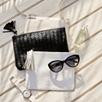 Cats Eye Sunglasses - Black