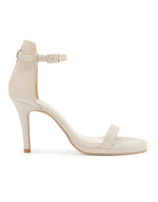 Suede Cushioned Sandals