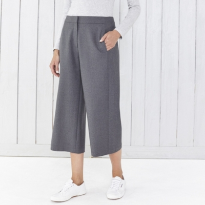 The Culottes - Dark Charcoal Marl