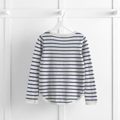 Curved Hem Sweater (4-10yrs)