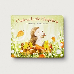 Curious Little Hedgehog Book by Kirsten Irving