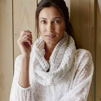 Wool Cable Snood