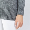 Chunky V Neck Sparkle Sweater