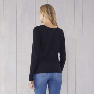 Cowl Neck Sweater - Black