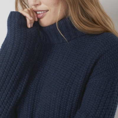 Chunky Wide Sleeve Stitch Sweater