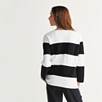 Cotton Wide Stripe Sweater