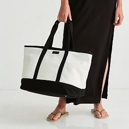 Canvas Weekend Tote Bag
