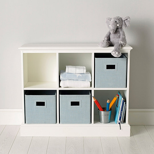 Classic 6 Cube Storage Unit & Classic 6 Cube Storage Unit | Bedroom Furniture | The White Company UK