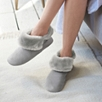 Faux-Fur Slipper Boots