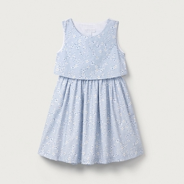 Daisy Print Dress (1-6yrs)
