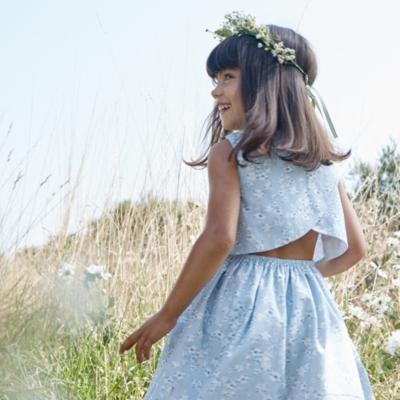 Daisy Print Dress (1-6yrs)
