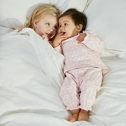 Daisy Print Ruffle Pyjamas