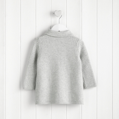 Double Breasted Knitted Coat